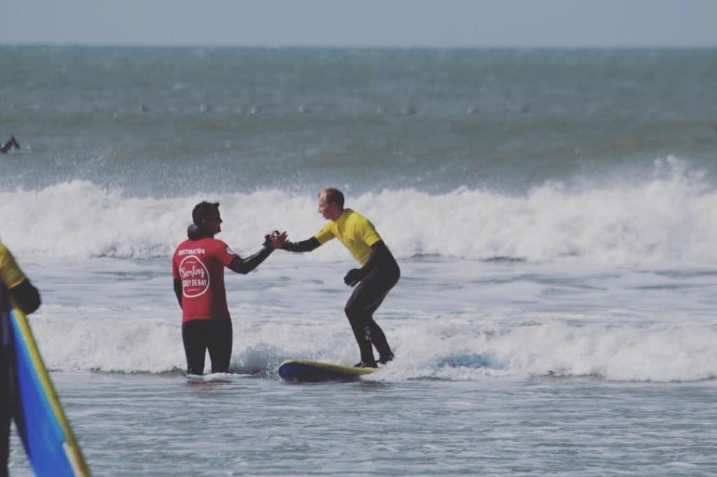 private surf lesson 1:1