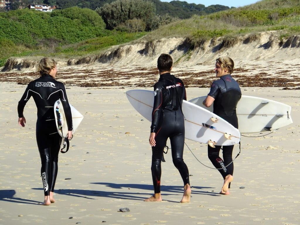 surfing stag do