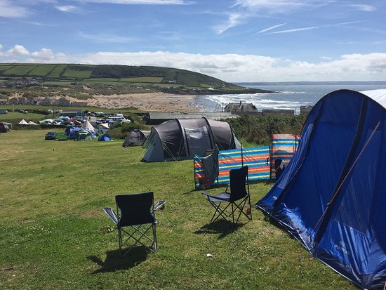 freshwell campsite camping in croyde